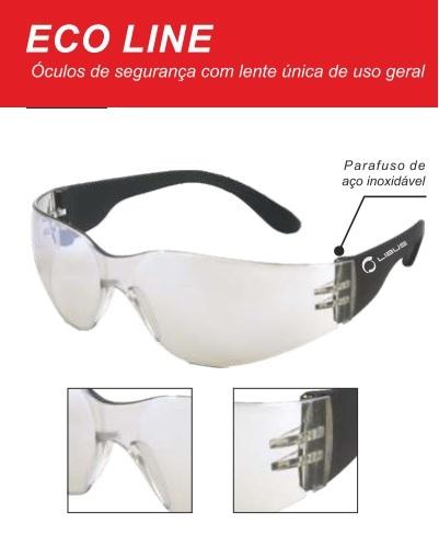 d1a9d9bd78c13 Óculos de Proteção Eco Line Libus – Cod 3035 – Seg-Labor