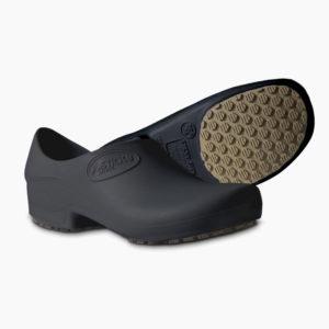 2a06b0b8eb3b2 Sapato Antiderrapante Sticky shoe Preto – Cod 2959