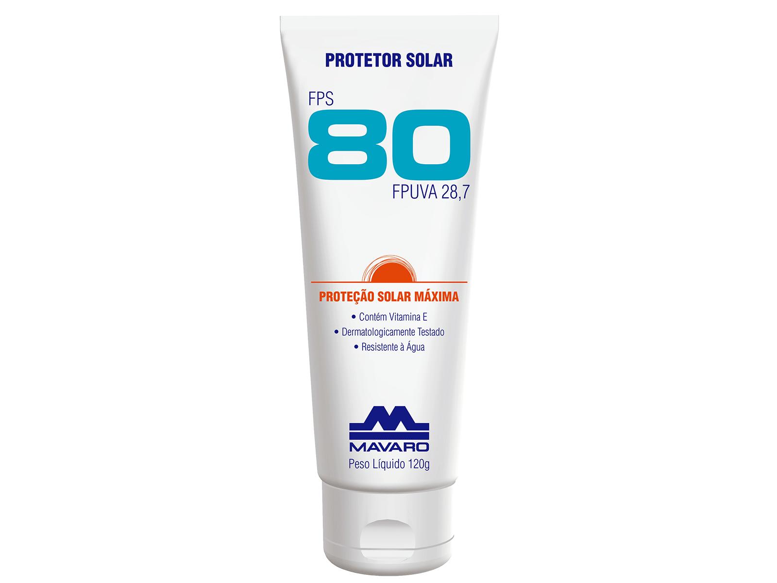 b46787320c305 Protetor Solar FPS 80 120G – Cod 3067 – Seg-Labor